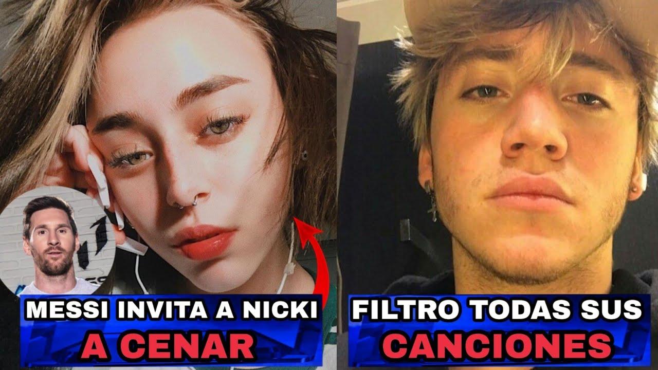 MESSI invitó a NICKI NICOLE a CENAR ? PAULO LONDRA filtra sus CANCIONES ? ECKO BZRP Music Session
