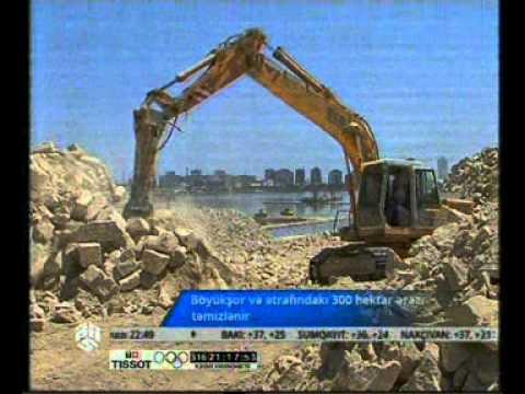 Böyükşor və ətrafındakı 300 hektar ərazi təmizlənir