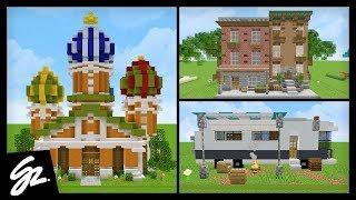 8 Village Ideas For Minecraft 1 14 YouTube