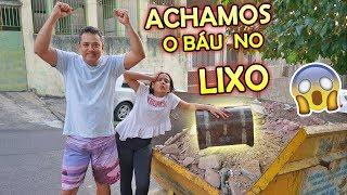 EM BUSCA DO TESOURO ABANDONADO NA MINHA CASA! (ACHAMOS O BAÚ NO LIXO)- JULIANA BALTAR