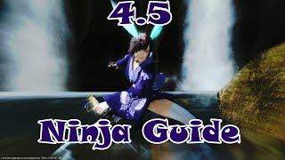 Final Fantasy XIV 4.5 Ninja Basic Opener and Rotation Guide