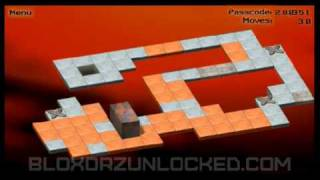 Bloxorz Level 30 - 114 moves (minimum)
