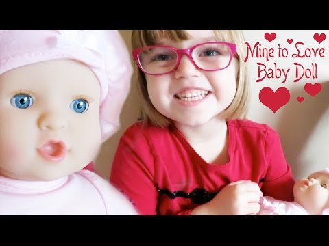 Melissa And Doug Quot Mine To Love Quot Baby Doll Youtube