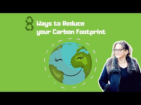 8 Ways to Reduce Your Carbon Footprint