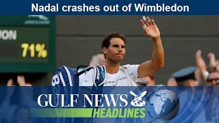 Nadal crashes out of Wimbledon - GN Headlines
