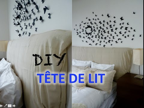 diy t te de lit capitonn e headbord doovi. Black Bedroom Furniture Sets. Home Design Ideas