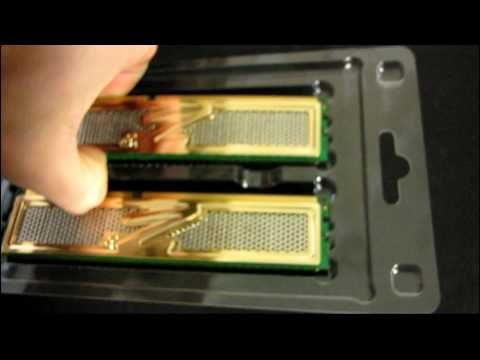OCZ Gold XTC 8GB DDR3 1333Mhz 9-9-9 RAM Memory Kit Unboxing & First Look Linus Tech Tips