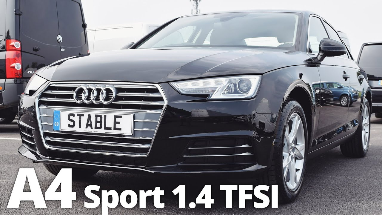 2016 New Audi A4 Sport Walk Around 1 4 Tfsi Black Youtube