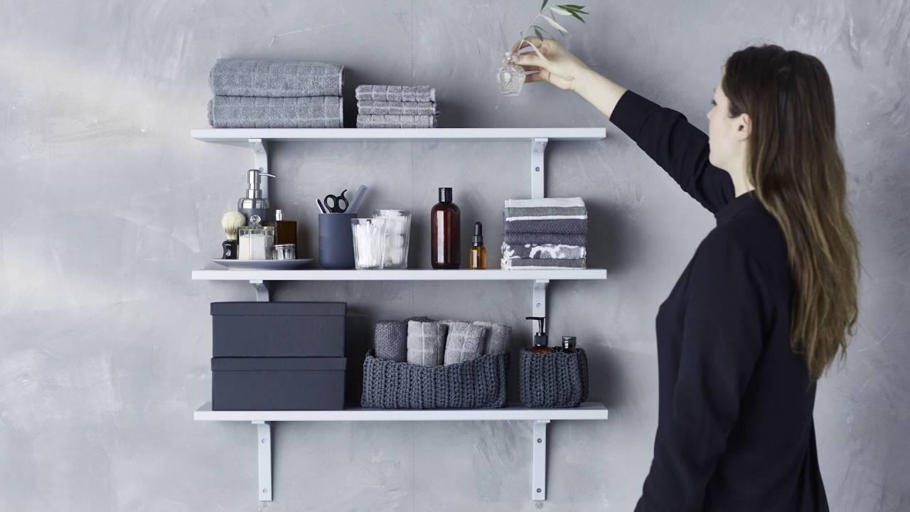 idee ikea secrets de styliste l etagere de salle de bains