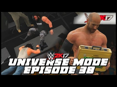 WWE 2K17 | Universe Mode - 'MONEY IN THE BANK PPV!' (PART 1) | #38