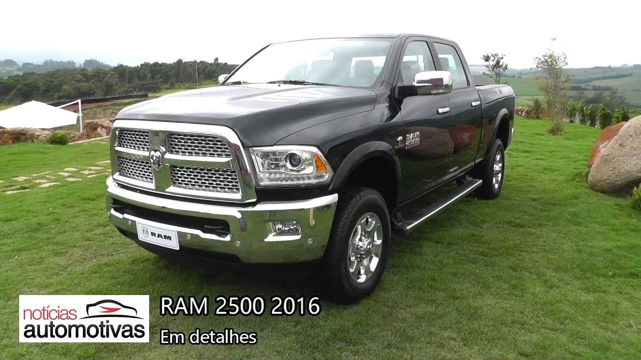 ram 2500 2016 detalhes youtube. Black Bedroom Furniture Sets. Home Design Ideas