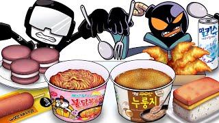 Mukbang Animation Korean conve…