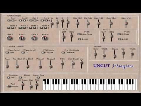 Download Free String synth plug-in: Orch Strings by Uncut