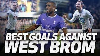 SPURS' BEST GOALS V WEST BROM ⚽💥