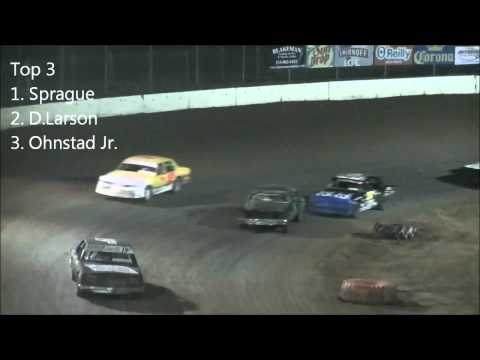North Central Speedway 9/1/12 Pure Stock Races