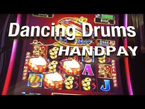 Handpay 🥁🥁dancing Drums 🥁🥁slot Machine Live Play Bonuses
