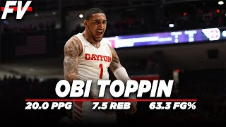 Obi Toppin | Dayton Season Highlight Montage | 20.0 PPG 7.5 REB | Are you Considering him at #1?