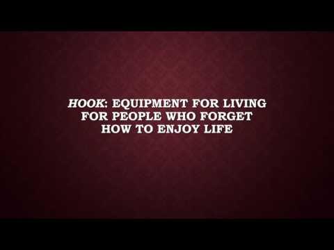 Hook: Equipment For Living