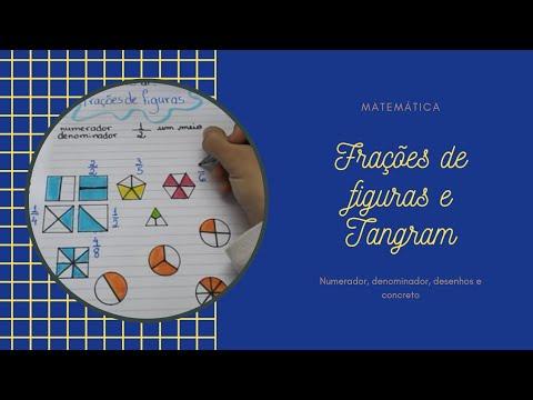 Frações 2: Frações de figuras e frações do Tangram