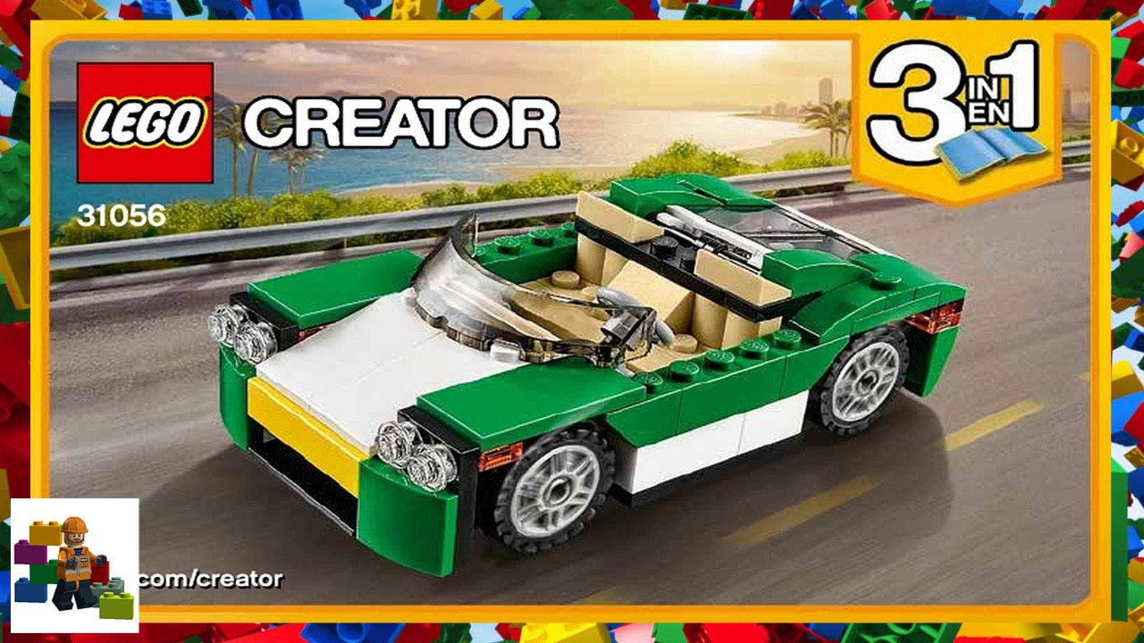 Lego Instructions Creator 31056 Green Cruiser Book 1 Youtube