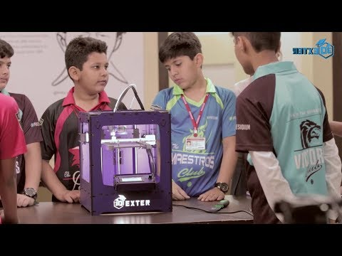 3D printing in Schools with 3Dexter across India.