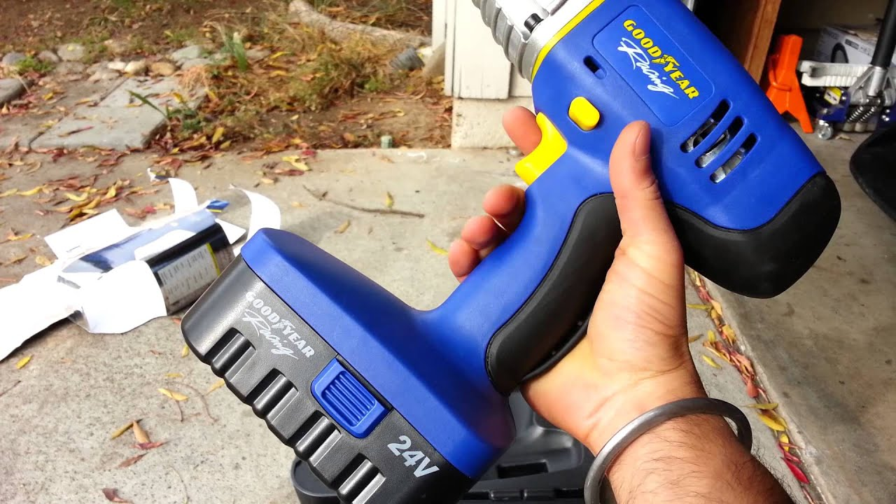 Good Year 24v Cordless 1 2inch Impact Wrench