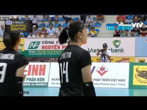 ถ่ายทอดสดวอลเลย์บอลวันนี้ ไทย U23 vs หนานจิง (จีน) VTV CUP 2019