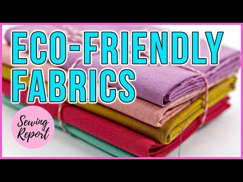 LIVE 🔴 Where to Buy Eco-Friendly, Sustainable Fabrics | SEWING REPORT
