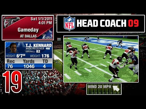 Our First Playoff Game Of The Series! - NFL Head Coach 09 Career Mode   Ep.19
