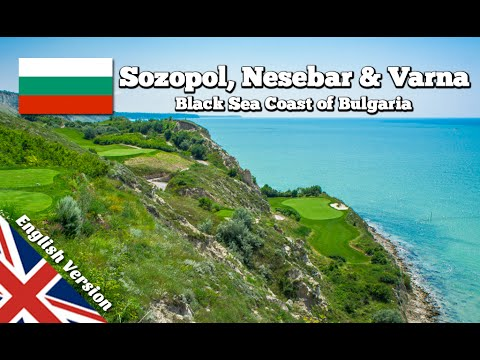 Beautiful Black Sea coast of Bulgaria (Balkan Road Trip 01)