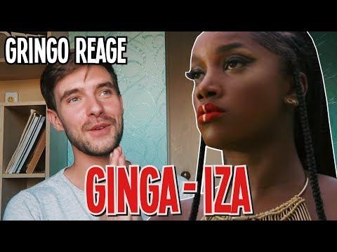 GRINGO REAGINDO A IZA - GINGA