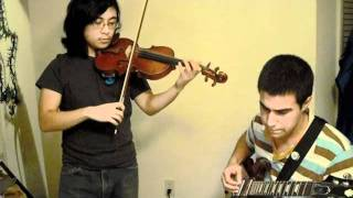 Fleet Foxes - Your Protector (Violin and Guitar cover)