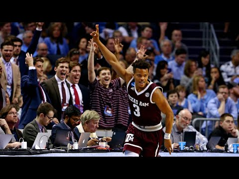 Texas A&M dominates North Carolina for 86-65 upset win