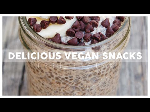 How To Vegan Snack In About 1 Minute