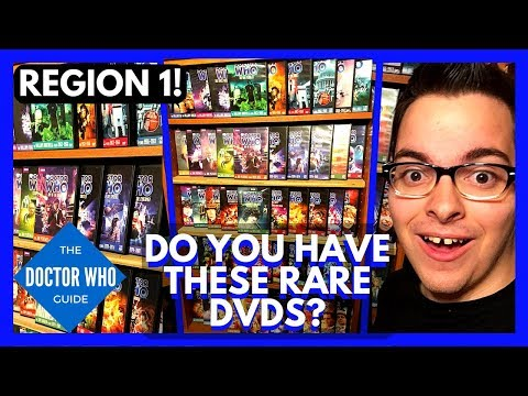 The 50 Rarest Classic Doctor Who DVD Releases in America! (And How to Collect Them)