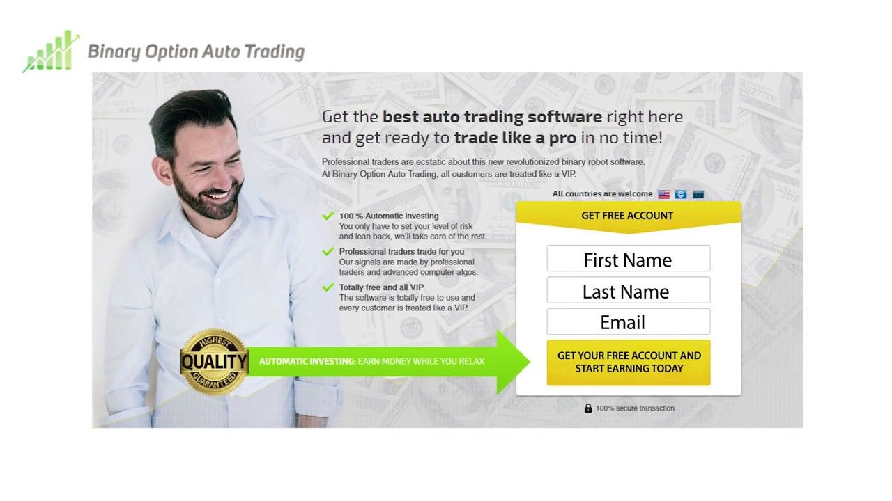 Best binary options trading robots