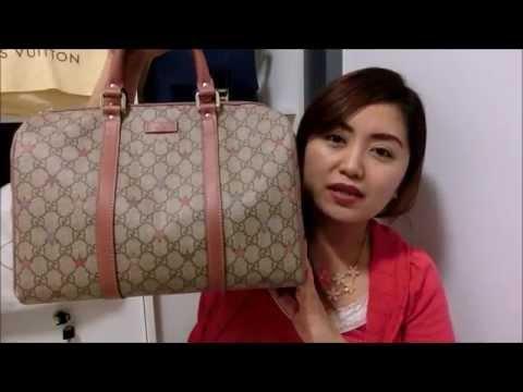 Review : Gucci Joy GG Canvas Stars Boston Bag