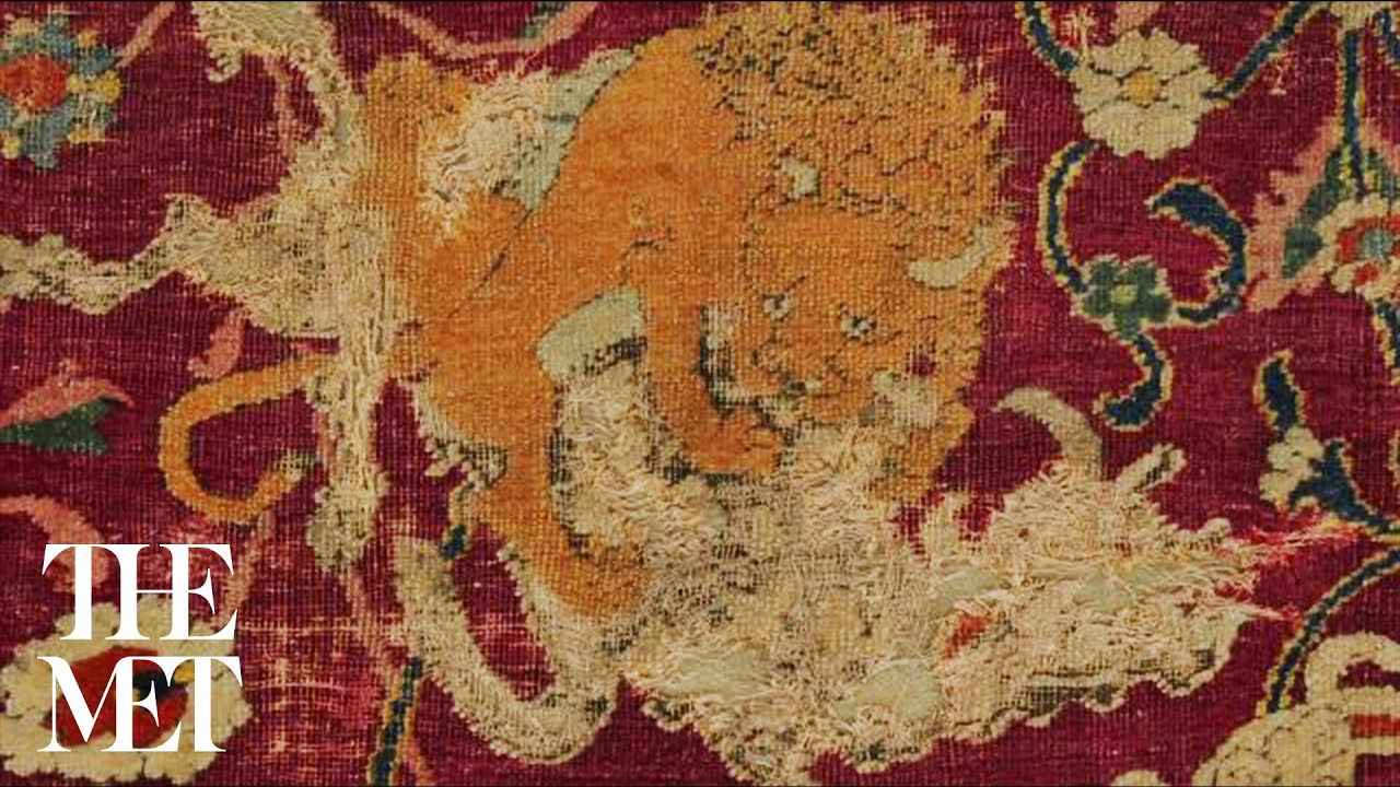 Conserving the Emperor's Carpet - YouTube