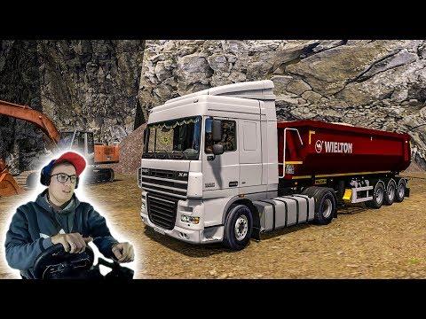ВЕЗУ ПЕСОК НА ДАФе КАК У БОЛЬШЕГРУЗ 40RUS! Euro Truck Simulator 2