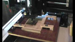 016 - Cnc - Intricate Template - Plywood.wmv
