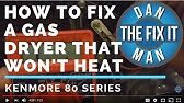 How to Replace a Kenmore Gas Dryer Igniter - YouTube Kenmore Gas Dryer Wiring Diagram on