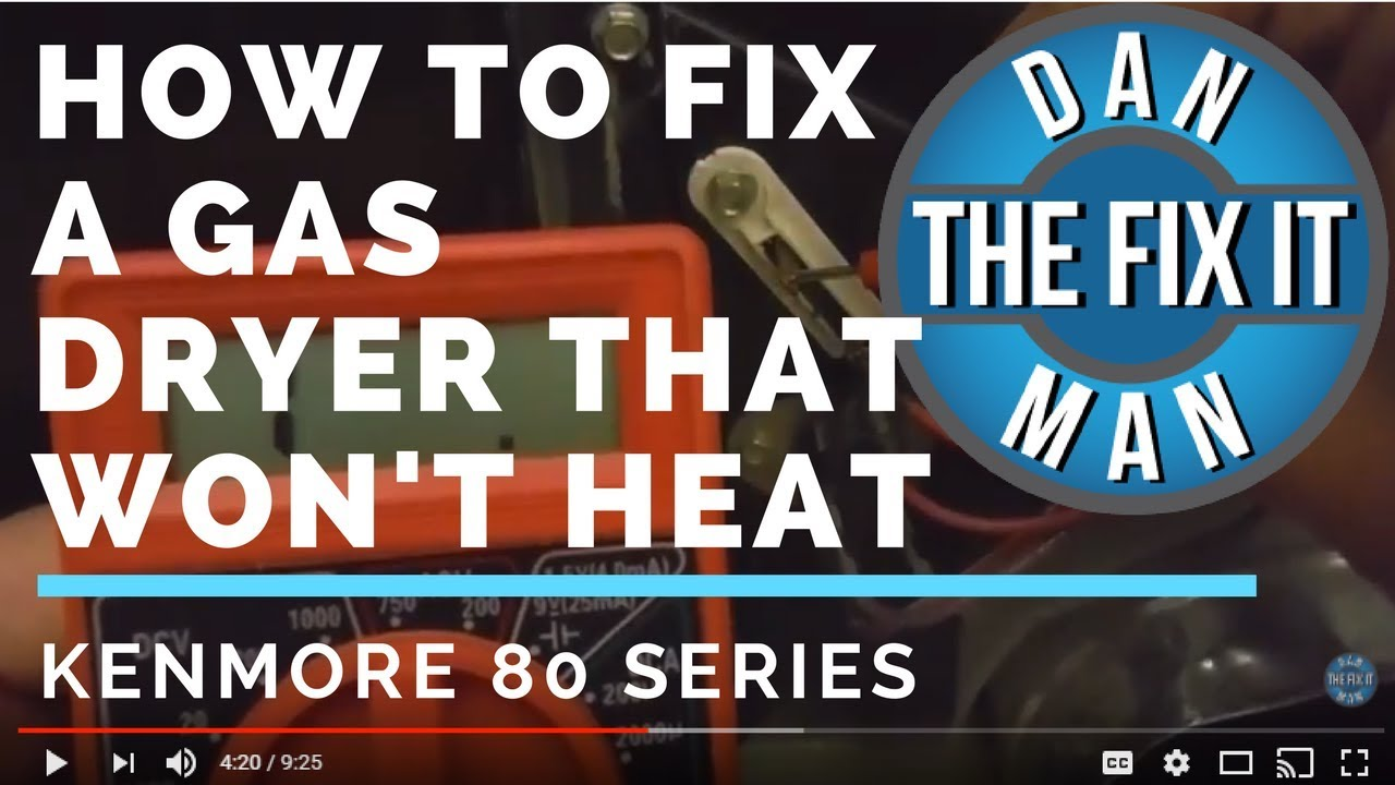 kenmore gas dryer not heating how to fix diy kenmore gas dryer wiring diagram kenmore 70 series dryer heating element