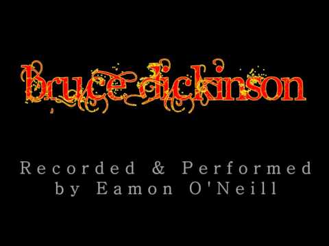 Bruce Dickinson Man Of Sorrows Guitar Backing Track Youtube