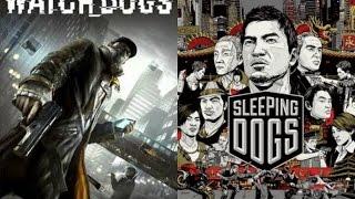 Sleeping dogs vs watch dogs