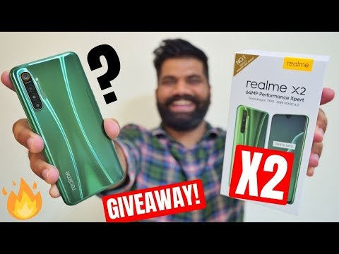 Realme X2 Unboxing & First Look - The REAL Mid-range Deal ??? Giveaway🔥🔥🔥