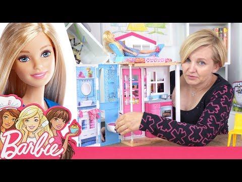 73239bf436e09 Barbie, Domek dla lalek i akcesoria, Mattel - YouTube