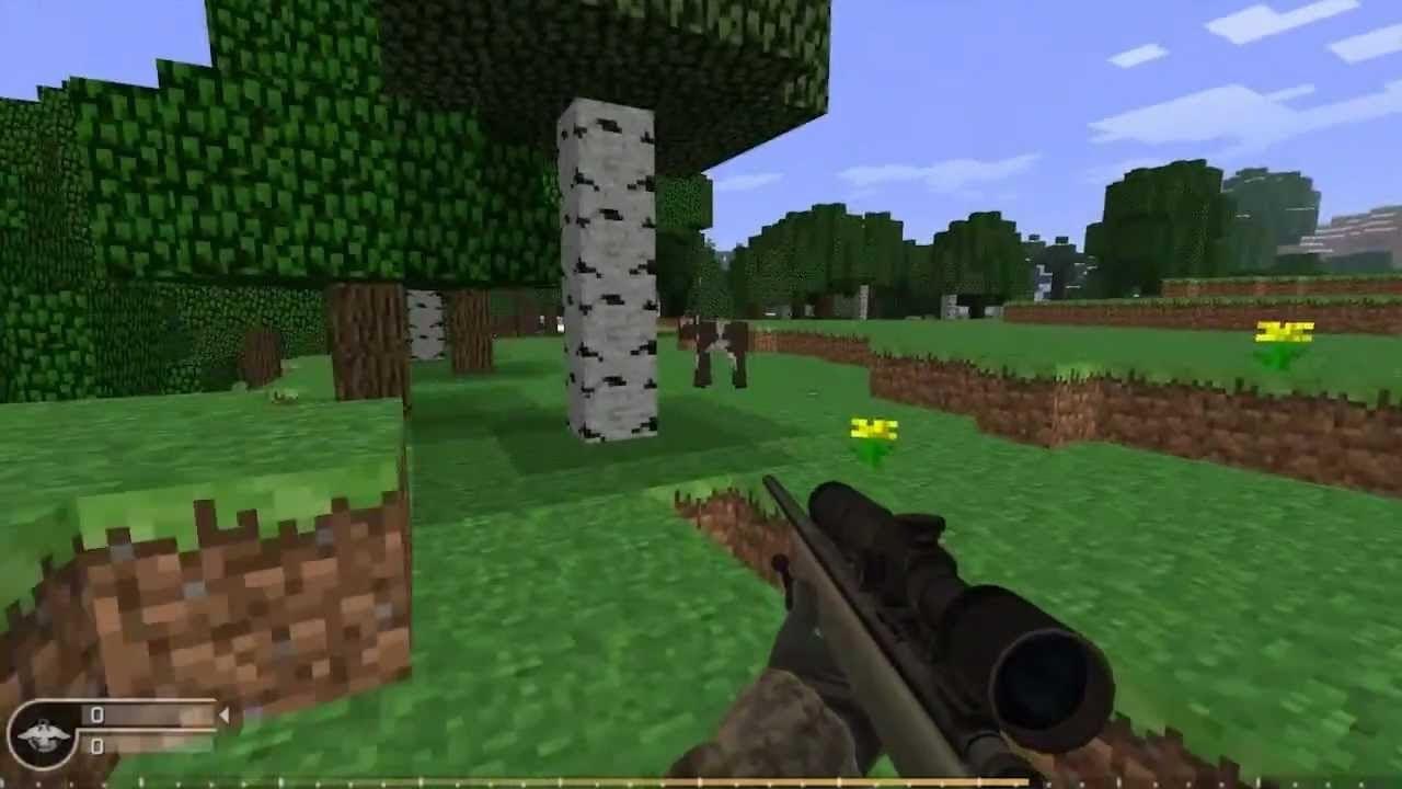 игры майнкрафт стрелки #9