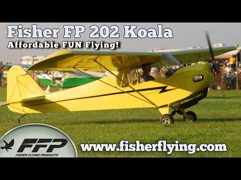 Fisher FP202 Koala Ultralight Aircraft Fisher Flying Products