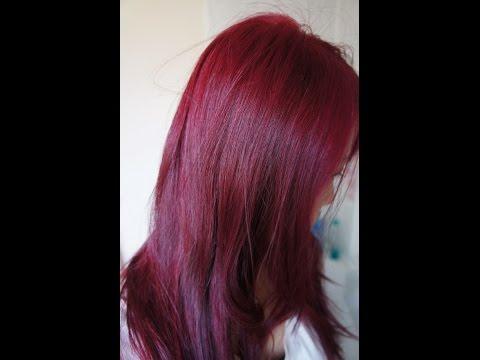 صبغت شعري باللون الأحمر الجمييل بوصفة طبيعية راااائعة والنتيجة من اول استعماال ستندمي إن لم تشاهديها Youtube