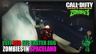 Zombies In Spaceland Red Yeti Eye Easter Egg | Another Possible Step To The Yeti Side EE?